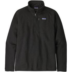 Patagonia Better Sweater 1/4 Zip Uomo, nero